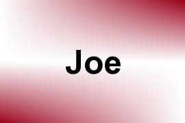 Joe name image