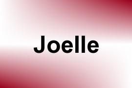 Joelle name image