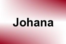 Johana name image