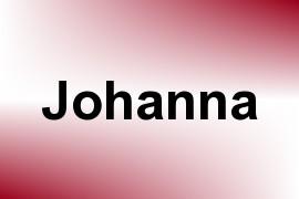 Johanna name image