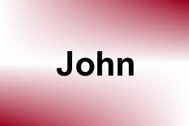 John name image