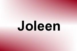 Joleen name image