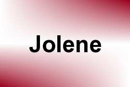 Jolene name image