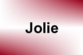 Jolie name image