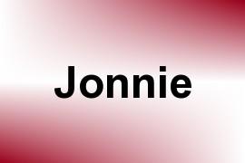 Jonnie name image