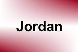 Jordan name image
