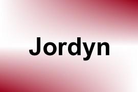 Jordyn name image