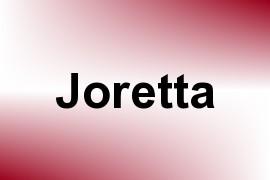 Joretta name image