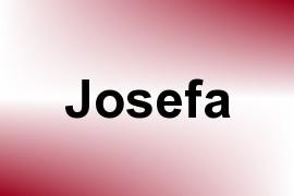 Josefa name image