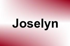 Joselyn name image