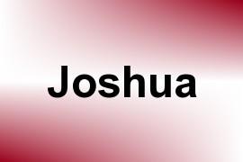 Joshua name image