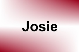 Josie name image