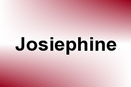 Josiephine name image
