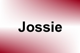 Jossie name image