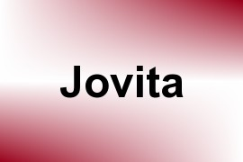 Jovita name image