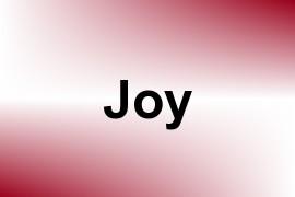 Joy name image