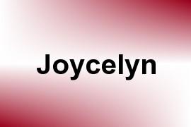 Joycelyn name image
