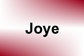 Joye name image