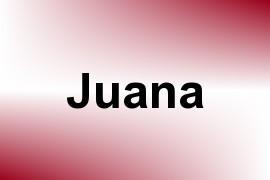 Juana name image