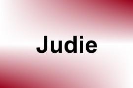 Judie name image