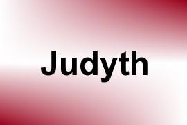 Judyth name image
