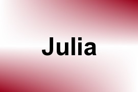 Julia - Given Name Information and Usage Statistics