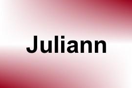 Juliann name image
