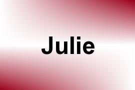 Julie name image
