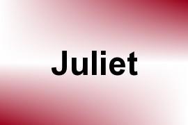 Juliet name image