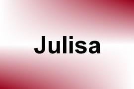 Julisa name image