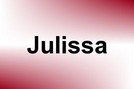 Julissa name image