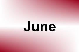 June name image