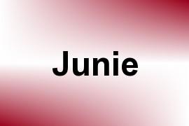 Junie name image