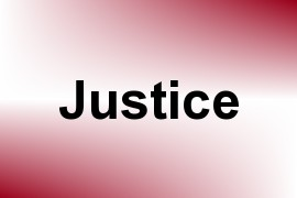 Justice name image