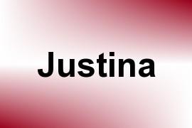Justina name image