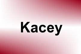 Kacey name image