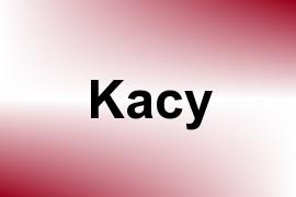 Kacy name image