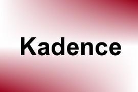 Kadence name image