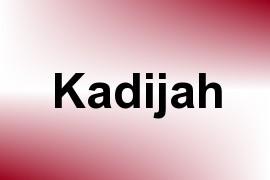 Kadijah name image