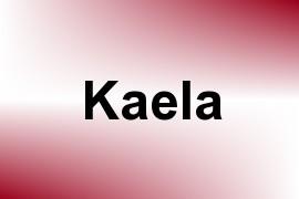 Kaela name image