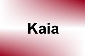 Kaia name image