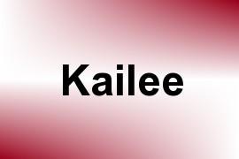 Kailee name image