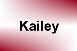 Kailey name image