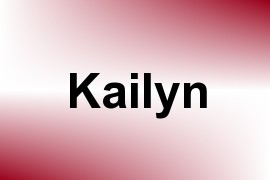 Kailyn name image