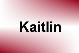 Kaitlin name image