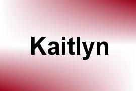 Kaitlyn name image