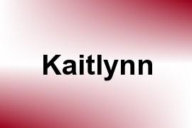 Kaitlynn name image