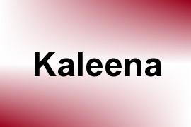 Kaleena name image