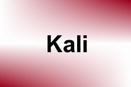 Kali name image