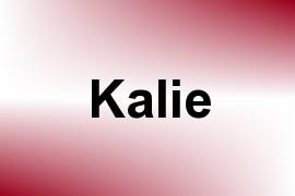 Kalie name image